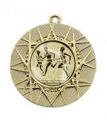 "Medaille ""Datos"" Ø 50 mm inkl. Wunschemblem und Kordel gold"