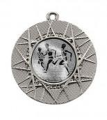 """Medaille """"Datos"""" Ø 50 mm inkl. Wunschemblem und Kordel silber"""