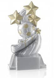 Fußball mit Schuh & 4 Sternen FS15903