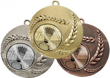 """Medaille """"Athen"""" Ø 50 mm inkl. Wunschemblem und Kordel"""