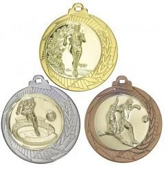 """Medaille """"Lindos"""" Ø 70mm mit Wunschemblem und Band"""