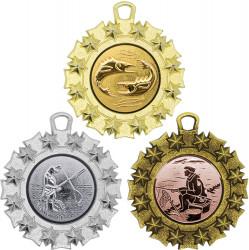 """SALE: Medaille """"Pella"""" Ø 45mm mit Wunschemblem und Band"""