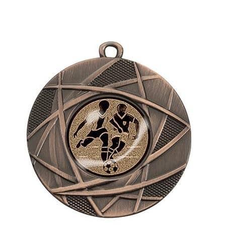 "Medaille ""Dodona"" Ø 50 mm inkl. Wunschemblem und Kordel bronze"