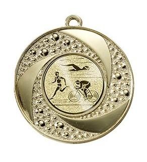 "Medaille ""Brauron"" Ø 50 mm inkl. Wunschemblem und Kordel gold"