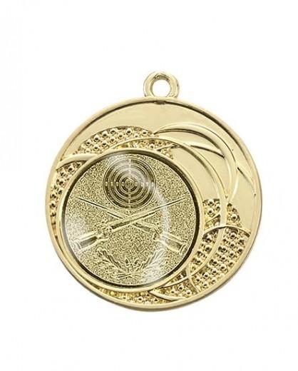 """Medaille """"Dion"""" Ø 40 mm inkl. Wunschemblem und Kordel gold"""