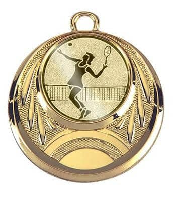 "Medaille ""Eion"" Ø 45 mm inkl. Wunschemblem und Kordel gold"