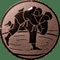 Emblem 25 mm Judo, bronze