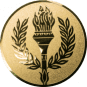 Emblem 25 mm Siegesfackel, gold