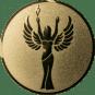 Emblem 25 mm Siegesgöttin, gold
