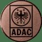 Emblem 25mm ADAC, bronze