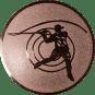 Emblem 25mm Casting, bronze