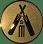 Emblem 25mm Cricket, gold