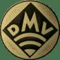 Emblem 25mm DMV, gold
