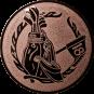 Emblem 25mm Golftasche, bronze