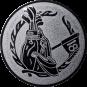 Emblem 25mm Golftasche, silber