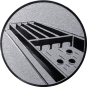 Emblem 25mm Jakkolo, silber