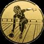Emblem 25mm Keglerin, gold