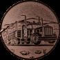 Emblem 25mm LKW, bronze