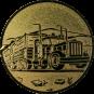 Emblem 25mm LKW, gold