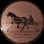 Emblem 25mm Traber, bronze