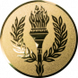 Emblem 50 mm Siegesfackel, gold