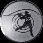 Emblem 50mm Casting, silber