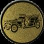 Emblem 50mm Oldtimer, gold
