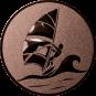 Emblem 50mm Surfer, bronze