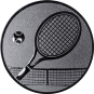 Emblem 50mm Tennisschläger, silber