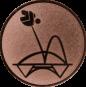Emblem 50mm Trampolin, bronze