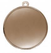 """Medaille """"Cortona"""" Ø 70mm mit Wunschemblem und Band bronze"""
