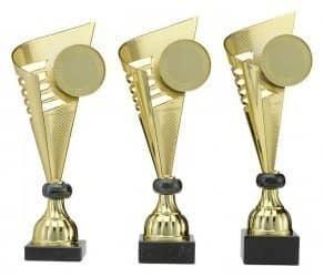 Pokale 3er Serie A269 gold/schwarz