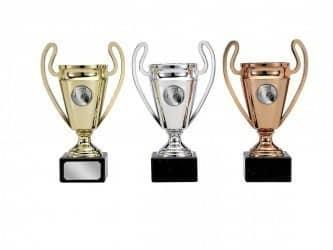 Pokale mit Henkel 3er Serie S123