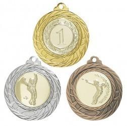 """Medaille """"Olympia"""" Ø 40mm mit Wunschemblem und Band"""