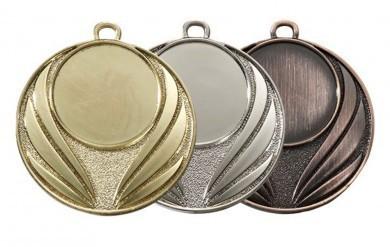 """Medaille """"Asine"""" Ø 45mm inkl. Wunschemblem und Kordel"""