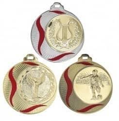 """Medaille Akragas"""" Ø 70mm mit Wunschemblem und Band"""
