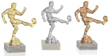 Fußballer Statue 3er Serie FS84