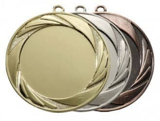 """Medaille """"Argos"""" Ø 70mm mit Wunschemblem und Band"""