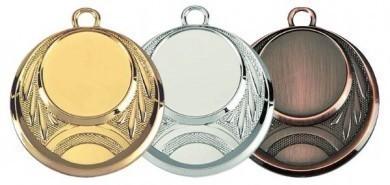 """Medaille """"Eion"""" Ø 45 mm inkl. Wunschemblem und Kordel"""