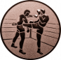 Emblem 25 mm 2 Kickboxer, bronze