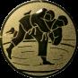 Emblem 25 mm Judo, gold
