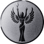 Emblem 25 mm Siegesgöttin, silber