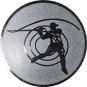 Emblem 25mm Casting, silber
