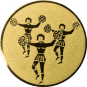 Emblem 25mm Cheerleader, gold