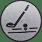 Emblem 25mm Golfschläger, silber