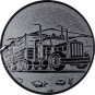 Emblem 25mm LKW, silber