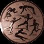 Emblem 25mm Mehrkampf, bronze