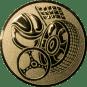 Emblem 25mm Motorsport, gold
