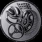 Emblem 25mm Motorsport, silber