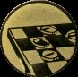 Emblem 25mm Mühle, gold